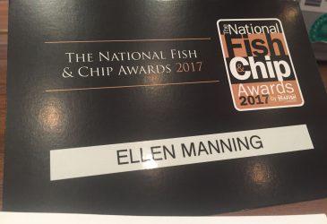 Judging at the National Fish & Chip Awards