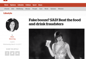 Fake booze? SAD! Beat the food and drink fraudsters
