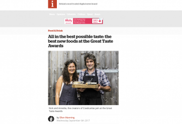 All in the best possible taste: the best new foods at the Great Taste Awards