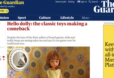 Hello dolly: the classic toys making a comeback