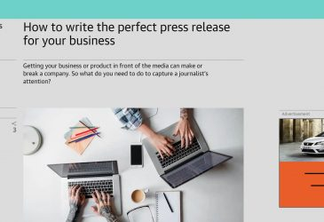 How to write the perfect press release for your business