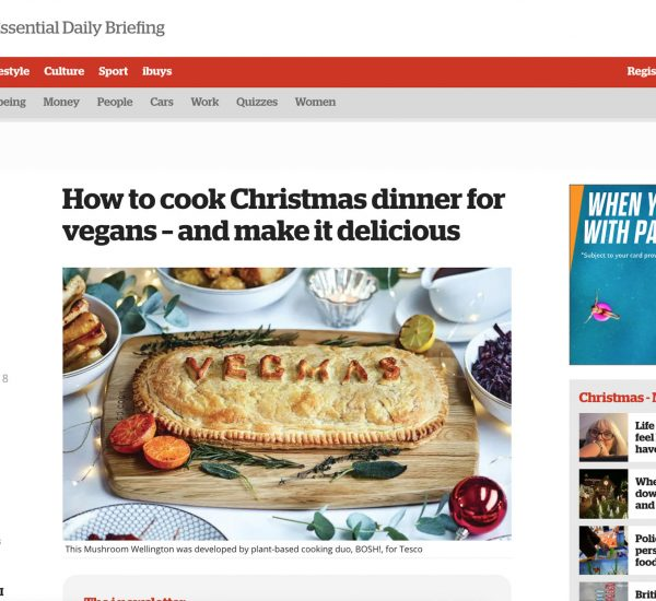 How to cook Christmas dinner for vegans – and make it delicious