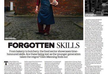 Forgotten skills from bakery to butchery