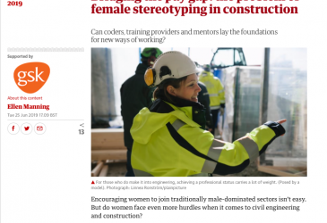 Bridging the pay gap: the problem of female stereotyping in construction