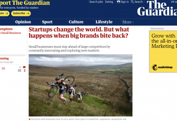 Startups change the world. But what happens when big brands bite back?