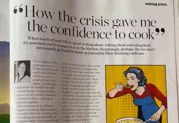Delicious How the crisis gave me the confidence to cook