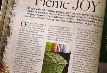 Delicious Magazine Picnic JOY